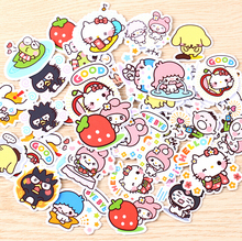 40pcs Creative kawaii self-made love Sanrio girl stickers beautiful stickers /decorative sticker /DIY craft photo albums(China)