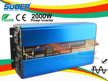 Suoer hot sale inverter solar power system 2000w power inverter24v 220v inverter (FPC-2000B)