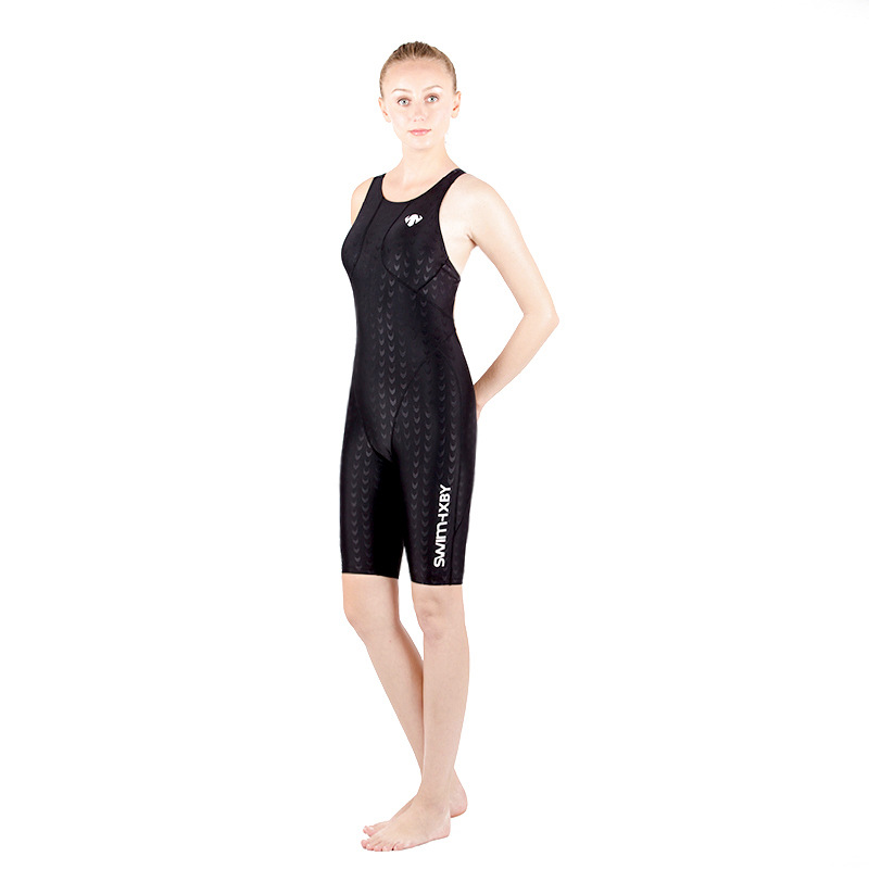 One Piece Suits Swimsuit Swimwear Women Polster Arena Sharkskin Bathing Suit Competition Swimming Swimsuits Racing Badpak Black<br>