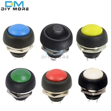 12mm PBS-33B Waterproof Momentary ON OFF Push Button Swithch Mini Round Switch VE058