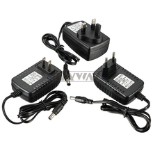 AC 100V-240V Converter Adapter DC 12V 2A 2000mA Power Supply EU/US/AU/UK Plug 5.5mm x 2.1-2.5cm for LED CCTV Rigid light strips(China)
