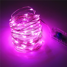 8 Modes Switch Control LED String Night Light DC5V With USB Port Cable 10M 100LEDS USB LED Strip light lamp for Holiday Party(China)