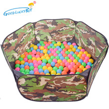 2017 New Foldable Camouflage Ocean Ball Pool  Indoor/Outdoor Play House Play Tent Toys Gifts For Children