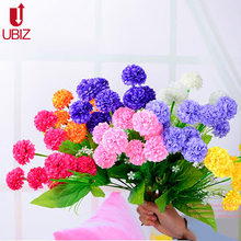 Artificial eternal Pompoms flowers decoration ponpon pots ramos flower flores home wedding Ornament product fleur flowers decor