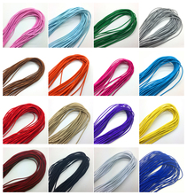 5yards/lot Trong Elastic Bungee Rope Shock Cord Tie Down DIY Jewelry Making Pick color(China)