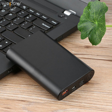Buy Wopow Universal 10000mAh Power bank 18W QC3.0 Quick Charge Dual USB LED Light Type-C Port External Battery Power Bank for $23.11 in AliExpress store