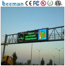 Leeman P16 outdoor advertising true color led Full color video P8 P10 P16 RGB advertising LED board outdoor LED panel display