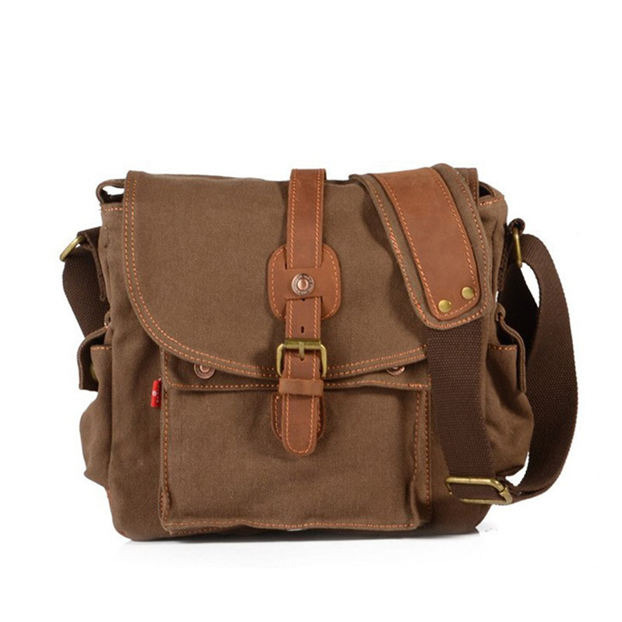 2017 New canvas bag high quality messenger bags fashion shoulder bags brand men bag  high quality shoulder canvas handbag  <br><br>Aliexpress