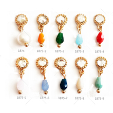 Japanese Nail Diamond Tassel Popular Alloy Candy Color Nai Jewelry Lot 10pcs NP304