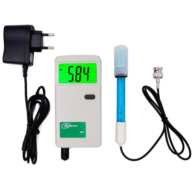 High accuracy PH Meter Digital  Professional Water Quality Meter For Aquarium Pool Water Laboratory With plug<br>