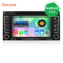 Seicane Android 7.1.1 for 2002-2011 VW Volkswagen Touareg Sat Nav DVD System with 3G WiFi Bluetooth Music Mirror Link OBD2(China)