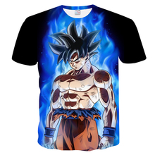 Buy New Dragon Ball Z T-shirts Mens Summer 3D Printing Super Saiyan Son Goku Black Zamasu Vegeta Dragonball Casual T Shirt Tops Tee for $6.63 in AliExpress store