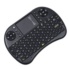 English Mini i8 Wireless Keyboard 2.4GHz Air Mouse Remote Control Touchpad For Android TV Box Notebook Tablet Pc