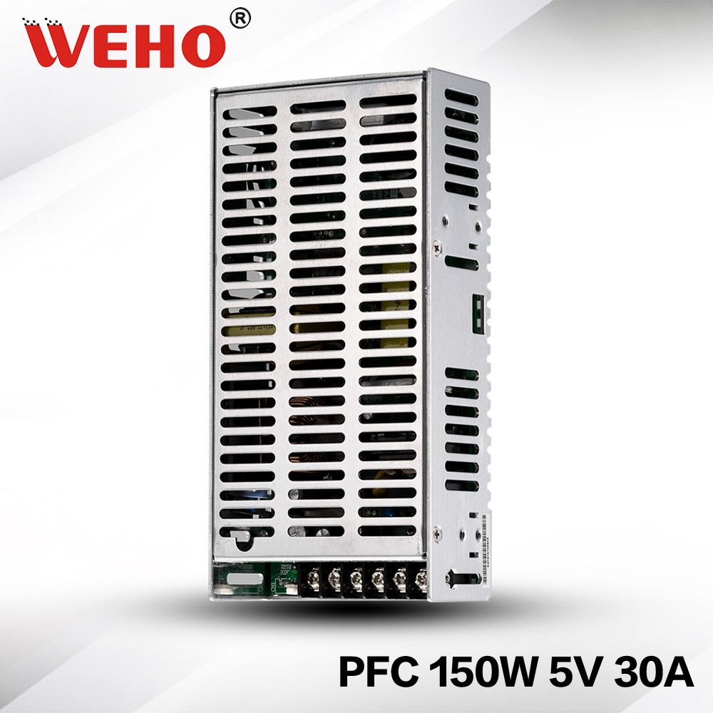 (SP-150-5) CE Rohs approved 150w 5v dc power supply with PFC function Switching mode power supply 150w 5v<br>
