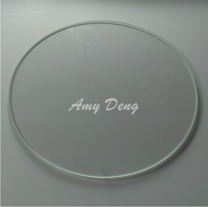 3D  heating bed borosilicate glass Delta Rostock  diameter 250MM<br>