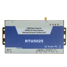 GSM 3G Gate Opener Wireless GSM Relay Access Controller Door Opener Garage Rolling Gate Opener by SMS Free Call RTU5025
