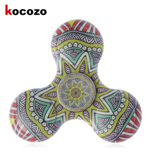 Buy 2017 Fidget Toys Pattern Hand Spinner Metal Fidget Spinner ADHD Adults Children Educational Toys Hobbies for $4.79 in AliExpress store