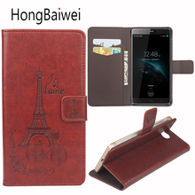 Buy HongBaiwei Homtom HT10 Case Flip Eiffel Tower Pattern Luxury Leather Wallet Phone Bag Case Homtom HT10 for $3.92 in AliExpress store