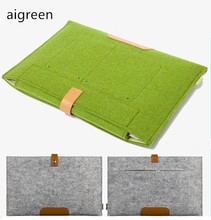 "Special Clearance Price Hot Felt  Bag Sleeve Case For Macbook Laptop Air  /Pro / Retina, 11.6"",13.3""15.4"", Free Drop Ship"