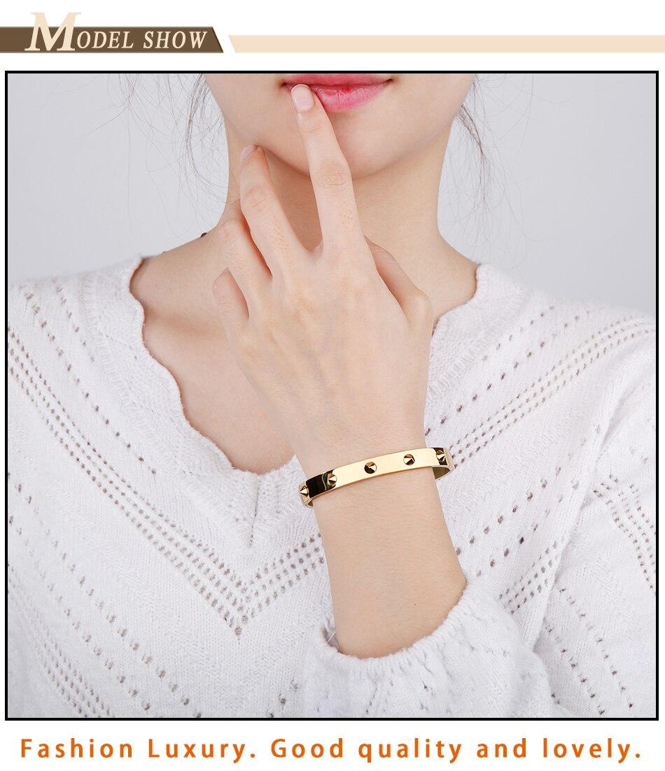 Brand Bangles Bracelets Women (9)