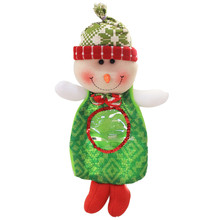 Gift candy bag Christmas Baubles Christmas Ornaments Cheap Creative Home Party Christmas Souvenir Candy Bag(China)
