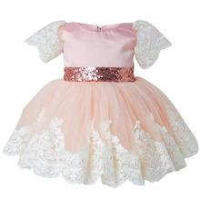 Baby Girl 1st Birthday Outfit Baby Party Frocks Dress for Girl Infant Christening Gown Fancy Toddler Bebes Wedding Easter Dress