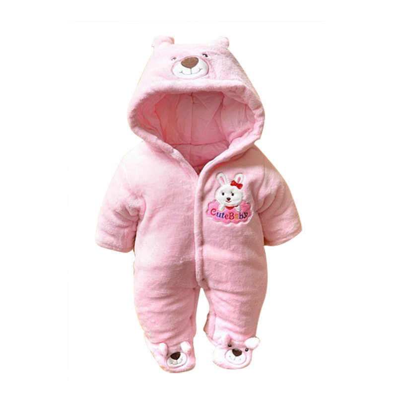 New Arrival !Autumn and Winter Baby Boy&Girl Clothes Newborn Cartoon Animal Outwear Clothing Baby Warm Jumpsuit Free Drop Ship03