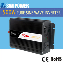500W pure sine wave solar power inverter DC 12V 24V 48V  to AC 110V 220V