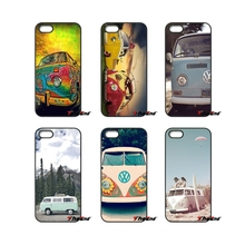 For iPod Touch iPhone 4 4S 5 5S 5C SE 6 6S 7 Plus Samung Galaxy A3 A5 J3 J5 J7 2016 2017 Classic VW Volkswagen Bus Case Cover