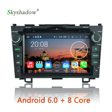 Android 6.0 Octa Core 2G RAM 32G ROM Car DVD Player Video GPS 3G Wifi DVR RDS Radio For Honda CR V 2006 2007 2008 2009 2010 2011