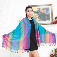2017 new lady foulard embroidered scarf shawl for women from india shawl scarves winter pashmina cotton voile scarf luxury brand