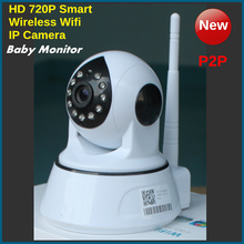 IP Camera 720P WIFI Wireless CCTV HD IR Night Vision Security Surveillance Camera System Dual Voices Baby Monitor