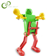 Funny Children Kid Baby Favor Wind Up Clockwork Dancing Robot Spring Toy Gift FREE SHIPPING WYQ(China)