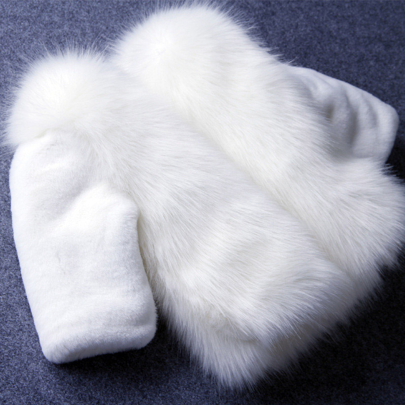High Quality Kids Jackets Clothes Winter Fur Coat For Baby Girls Clothes Parka Clothing For Girls Thickening Outerwear Faux Fur<br><br>Aliexpress