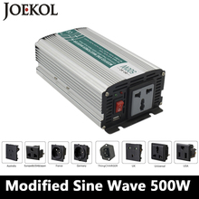 500W Modified sine wave inverter,DC 12V/24V/48V to AC 110V/220V,off grid inversor,solar power invertor,Converter 12v to 220v