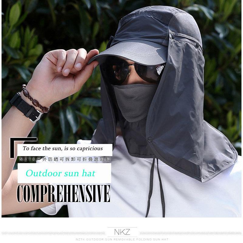 Detail Feedback Questions about Protection Cap Women Men Neck Face ... 980784b2e752