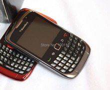 Original Blackberry  Curve 9300 cell phone QWERTY Keyboard 2MP Camera  Mobile  phone Free Shipping
