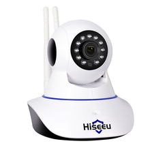 2MP Wifi IP Camera wi-fi support AP mode 1080P IP Network Camera wireless CCTV WIFI P2P IP Camera 1920*1080P FH1C Hiseeu(China)