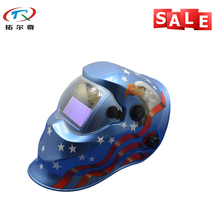 Free Shipping adjustable darkening Cool Welder tool Electronic Custom Auto Darkening Welding Helmet TRQ-KD03-2233FF