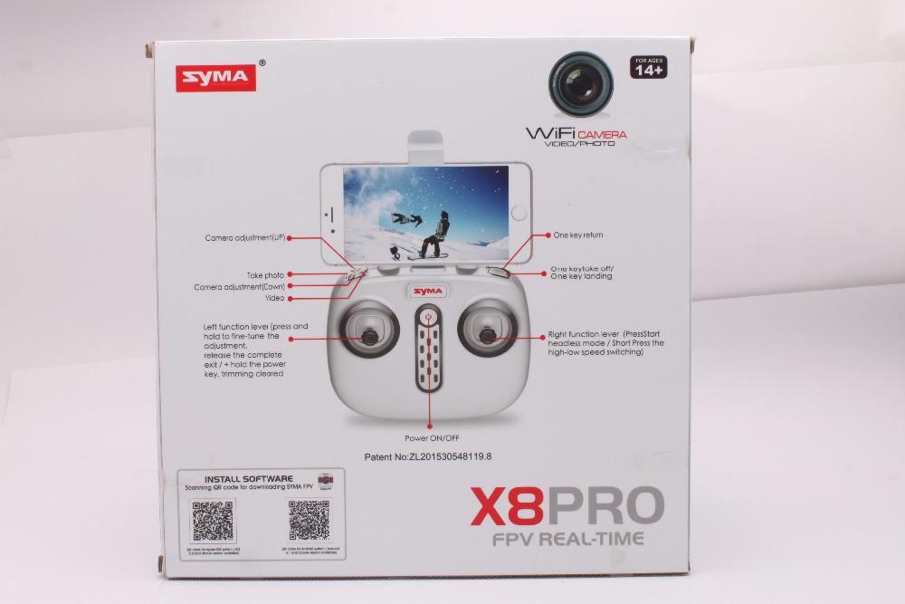 Newest SYMA X8PRO GPS DRONE RC Quadcopter With Wifi Camera FPV Professional Quadrocopter X8 Pro RC Helicopter can Add 4K Camera 36