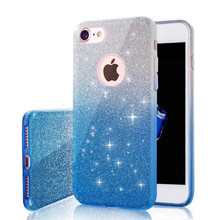 Buy Luxury 3 1 Bling Card+PC Hard Case iPhone X 8 7 6 6S Plus Clear Colorful Shining Glitter Back Cover iPhone 6 5 5S SE for $2.24 in AliExpress store