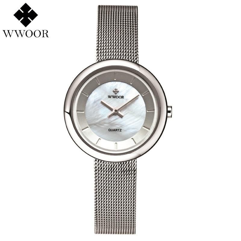 womens watch Fashion Brand Luxury Ladies Casual Ultra-thin Quartz Watch Woman Clock Steel Bracelet Wristwatch Relogio Feminino<br><br>Aliexpress