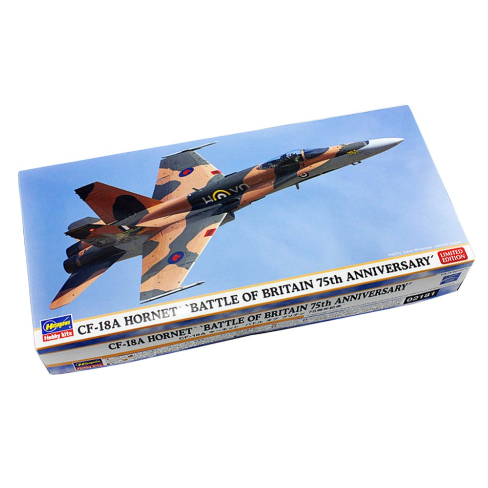 OHS Hasegawa 02181 1/72 CF18A Hornet Battle Of Britain 75th Anniversary Assembly Airforce Model Building Kits<br><br>Aliexpress
