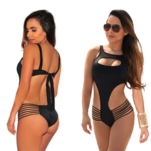 European style beach swimwear sexy tight body bikini beach dating romantic bikini party(China)