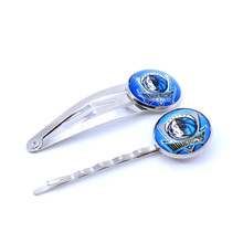 Dallas Mavericks Charm Women Hairpin Girls Hair Grips Kids Hair Clips Accessories Basketball Jewelry Fashion 2017