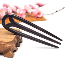 Vintage Hair Jewelry Ornaments Wood Hair Stick Hairpin Head Piece Pins Comb For Women Chinese Wedding Headpiece Hair Accessories(China)