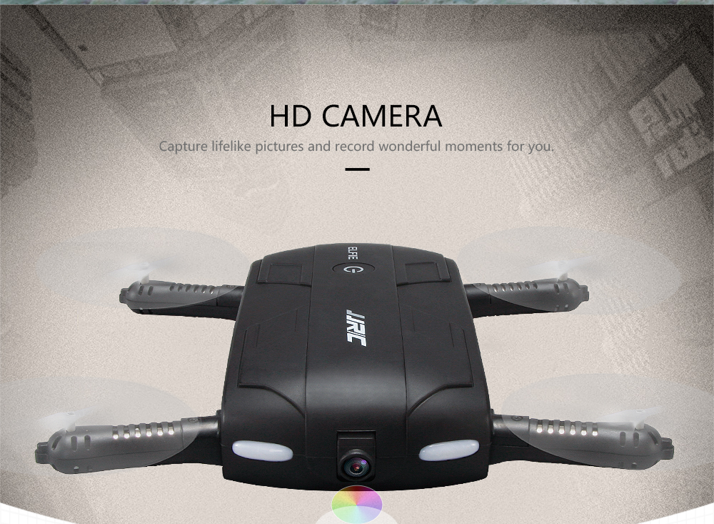 Upgraded Version JJRC H37 2MP 720P Camera Foldable WIFI FPV Drone Altitude Hold Pocket RC Quadcopter Better than E50 T37 JXD325