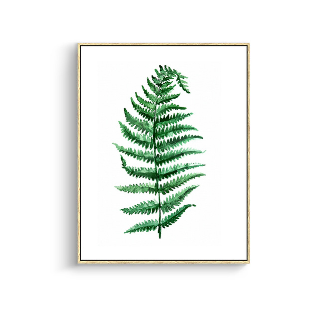 Modern-Green-Tropical-Plant-Leaves-Canvas-Art-Print-Poster-Nordic-Green-Plant-Wall-Pictures-Kids-Room.jpg_640x640 (5)