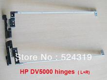"New Genuine Laptop LCD Hinges for HP DV5000 DV5100 DV5200 15.4"" AMZIP000800 AMZIP000700(China)"