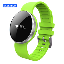 SCELTECH UW1 Bluetooth4.0 Smart Bracelet mirror Screen Heart Rate Monitor IP67 Waterproof Call Reminder for Android iOS